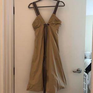 Max Azria Collection Khaki Bubble Dress
